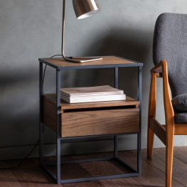Gal Balham Smoked Side Table