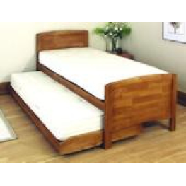 Relyon De Luxe Guestbed 3ft Oak With Mattresses
