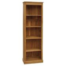 Old Time Brooklyn Oak Alcove Bookcase