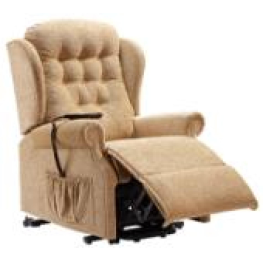 Sherborne Lynton Large Lift & Rise Recliner 1 Motor Right Handed Madrid Nutmeg Softcloth