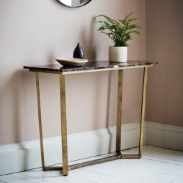 Emperor Console Table Marble