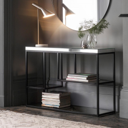 Pippard Console Table Black