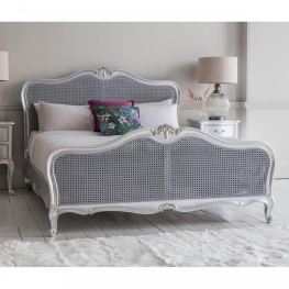 Chic 6' Cane Bed Silver