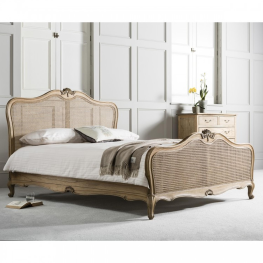 Chic 6' Cane Bed Weathered